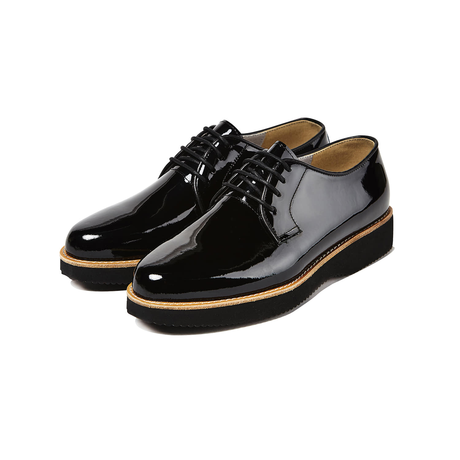Mansole Cloud for WOMEN [Waxing Enamel Black]